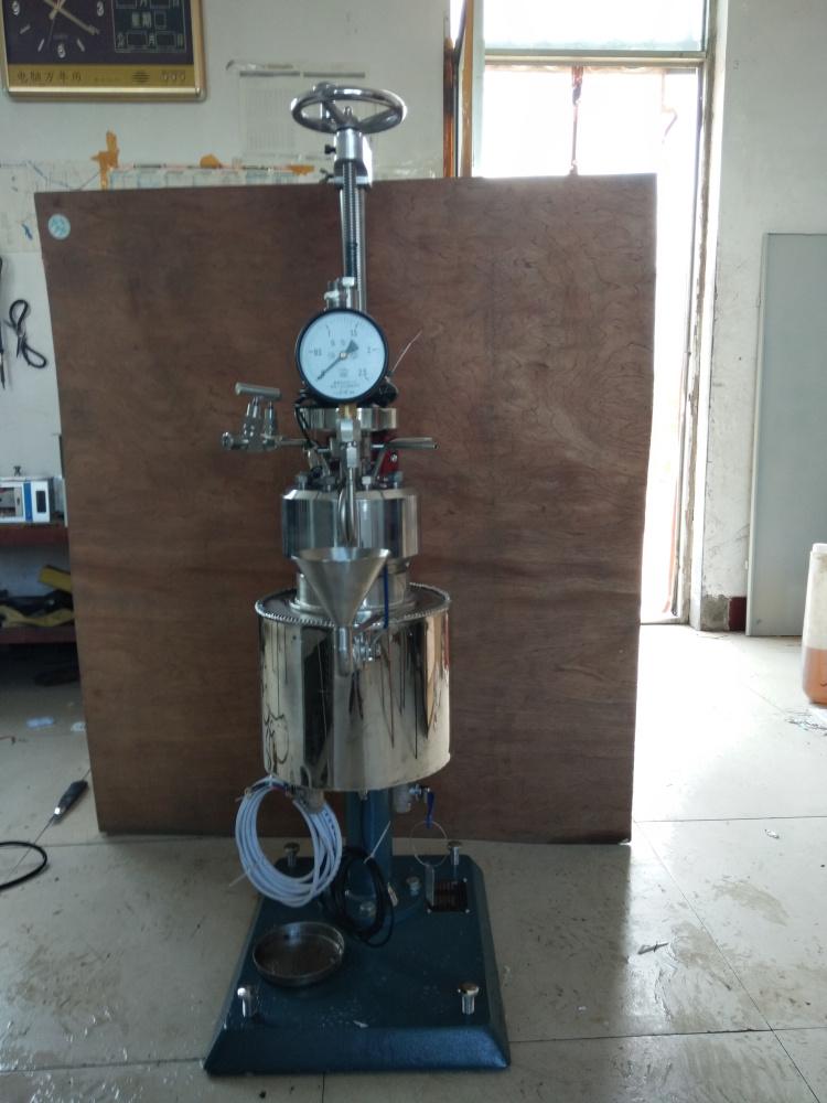 KCF系列--釜体可翻转出料、夹套电加热管加热导热油1