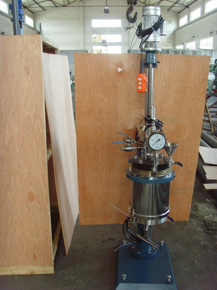 TSYBF系列-电动提升釜盖,双层石英玻璃釜1