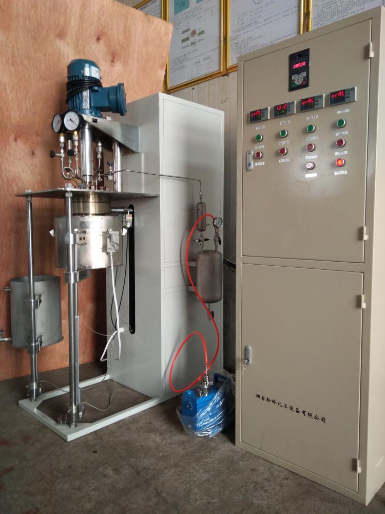 DFCF系列-釜体电动升降翻转、加热炉和水槽电动升降并可侧移4