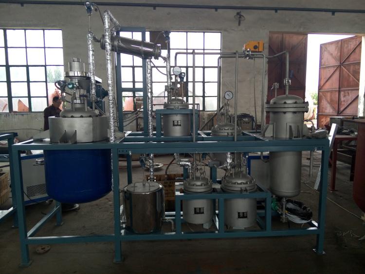 煤焦油减压蒸馏装置